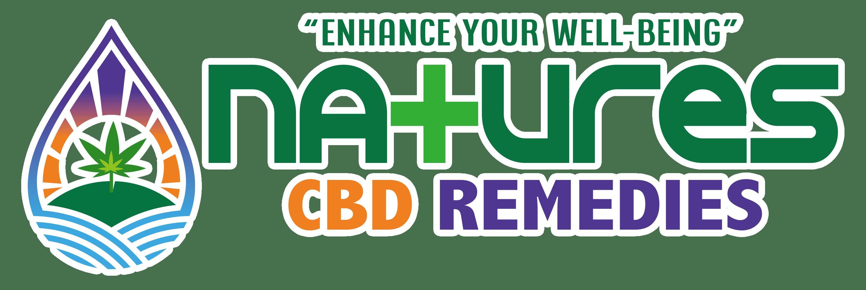 Natures-CBD-Remedies-Logo-Wh-Border-Trans-001
