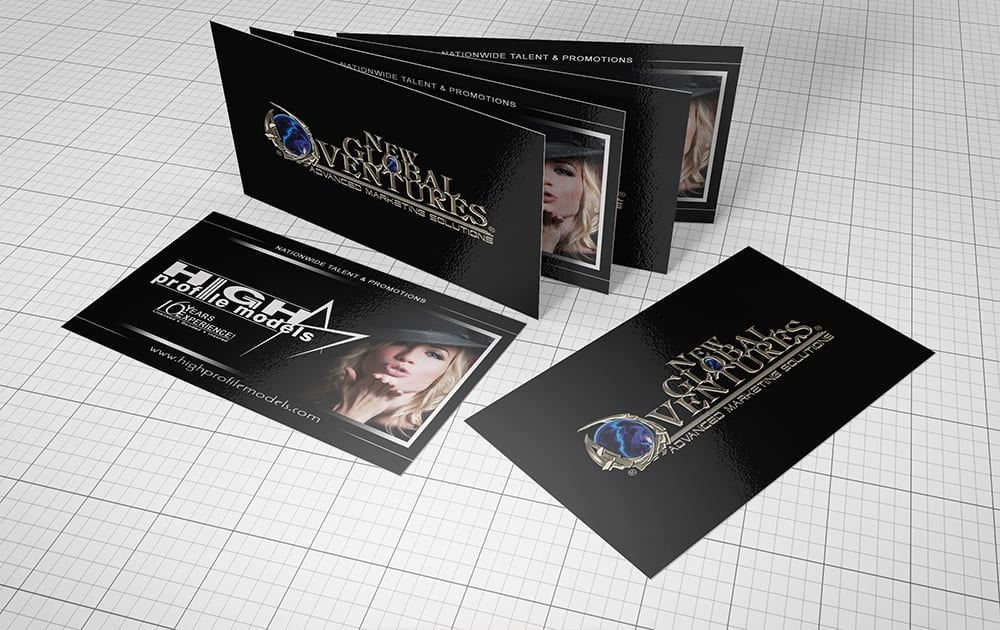 What is our approach to a Business Card Design?